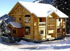 Преимущества постройки домов из бруса