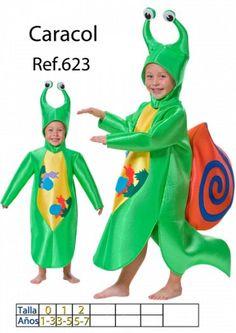 Disfraz de Caracol para niño talla 1 a 3 años -1 30.89 €.