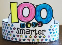100 days smarter headband for celebrating the 100th day of school.