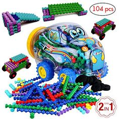 Product review for Educational toys by BLAGOO Building Blocks for Boys & Girls 3, 4, 5, 6, 7+ Years Old for Kids Toddlers Plastic Construction 7 Colors 104 pcs Car Set -  Reviews of Educational toys by BLAGOO Building Blocks for Boys & Girls 3, 4, 5, 6, 7+ Years Old for Kids Toddlers Plastic Construction 7 Colors 104 pcs Car Set. Educational toys by BLAGOO Building Blocks for Boys & Girls 3, 4, 5, 6, 7+ Years Old for Kids Toddlers Plastic Construction 7 Colors 10