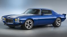 With a modern LT4 V8 under the hood, this Chevy resto-moded '70 Camaro RS is perhaps the perfect pony car.