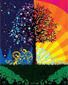 Abstract Tree ~ Paint By Numbers US®