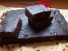 Csokis sütemény köles liszttel (gluténmentes, cukormentes)