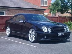 Lowered w208's....lets see what you've got - Mercedes-Benz Forum