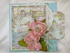 Hands to Work... Heart to Love: Prima Special Delivery Pocket Card w/Tag #2