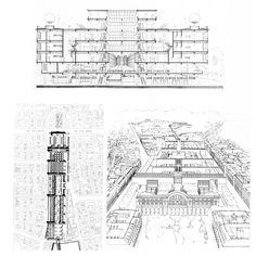 Riconversione Lingotto, Gregotti Associati, 1984, Torino. Prevede le funzioni: residenziale, culturale, commerciale, sportiva, culturale e d'intrattenimento.