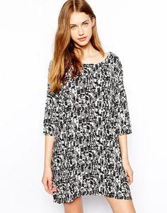 J.D.Y Mono Woven T-Shirt Dress