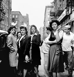 The photography of Fred Stein- New York, 1940s