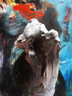 c a c t u s — verginiefiore: Joseba Eskubi Abstract Sculpture, Abstract Art, Creepy Art, Art Portfolio, Contemporary Paintings, Cool Artwork, Painting Inspiration, Art Pictures, Art Reference