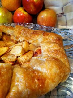 Rich and Sweet: Apple Galette