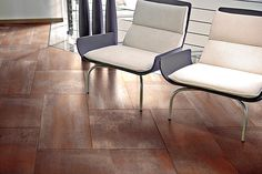 Cifre Ceramica Oxido Oxido (Cifre)-Cifre-3 , Metal effect effect, Public spaces, Ceramic Tile, wall & floor, Matte surface, non-rectified edge, Shade variation V2