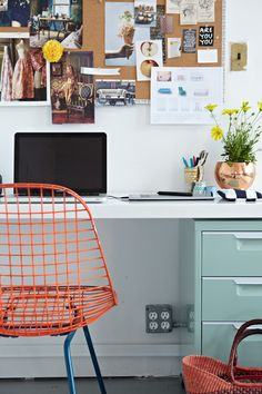 15 Home Offices Sure to Inspire Creativity / via Design*Sponge