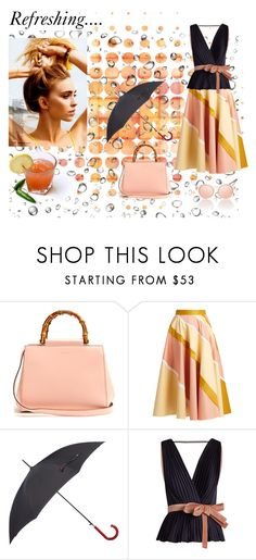 """""""Refresh"""" by snowflakes214247 ❤ liked on Polyvore featuring Gucci, Roksanda, Lulu Guinness, Le Specs and Ÿù"""
