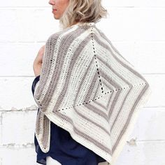 This free modern scarf crochet pattern is surprisingly simple to make! Its lightweight weave makes it a perfect wrap to throw on for chilly summer nights or cool autumn days.Find this beautiful pattern at LoveCrochet.Com!