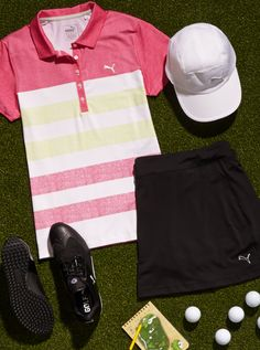Shop Shop PUMA Women's Apparel at Golf Galaxy. If you find a lower price on Shop PUMA Women's Apparel somewhere else, we'll match it with our Best Price Guarantee. Golf Attire, Golf Outfit, Golf Cart Accessories, Golf Wear, Womens Golf Shoes, Golf Humor, Golf Fashion, Ladies Fashion, Ladies Golf