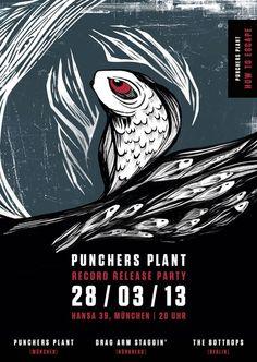 PUNCHERS PLANT ALBUM RELEASEPARTY + DRAG ARM STAGGIN + THE BOTTROPS