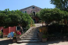 Web Server's Default Page Das Hotel, Venetian, Villas, Sidewalk, Mansions, Self, Mansion, Corfu, Greece