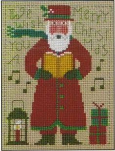 Just Cross Stitch in Limerick,PA: 2014 PRAIRIE SCHOOLER SANTA