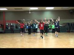 """▶ """"I'm a freak"""", Enrique Iglesias (feat. Pitbull), Choreo by Natalie Haskell for Dance Fitness - YouTube (modify for Zumba Step warm-up)"""