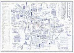 Mapa ilustrado de Kakimori
