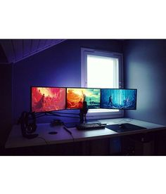 Here's an awesome setup found from @dream_setups. I like this setup for various reasons. The first being is how simple and elegant it is. The only things I see on the desk are the necessities like mouse keyboard etc. And second I love the way the monitors are positioned especially how they are on a stand. Great job! What do you guys think? Definitely share your thoughts down below! ------------------------------------ Use #officialsetups with a photo of your setup to have a chance to be…