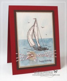 Sail Away by krista824 - Cards and Paper Crafts at Splitcoaststampers