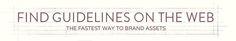 Find logo and design guidelines