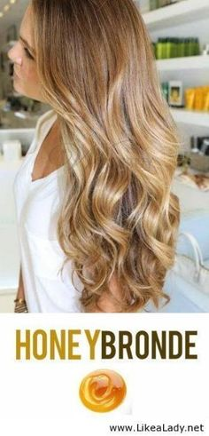 Honey Bronde Hair Color: is EXACTLY this color I've been looking for!!! Watch out summer here I come! by NiqueGata
