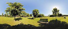Panorama shot; tuin de Methoeve