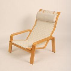 Located using retrostart.com > Pulka Lounge Chair by Ilmari Lappalainen for Asko