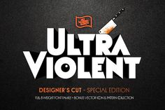 NWB UltraViolent Designer's Cut (SE) by Nowheresburg on @creativemarket