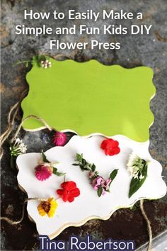 A fun kids diy flower press can turn a simple wildflower (or garden flower) unit study into a fun and memorable unit by adding in some simple hands-on activities.  Just a few dollars and a little time are all you need to create an easy perfectly portable flower press that you and your child can use again and again..  CLICK HERE to learn how to make it!  #kidsflowerpress #kidsactivity #homeschoolscience #lifescience #homeschool #homeschoolhandson