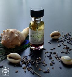 Sea Witch Oil the Feminine Divine Deities and Spirits by Anathemum, $6.75