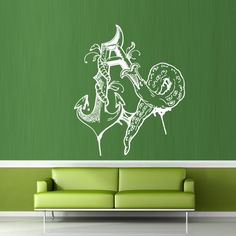 Wall Decal Decor Decals Sticker Tentacles Letter a Curl Anchor Ship Octopus (M281) DecorWallDecals http://www.amazon.com/dp/B00FWKQH64/ref=cm_sw_r_pi_dp_ermYub19KDNHR