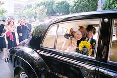 I want a vintage car at my wedding, yes oh yes I do
