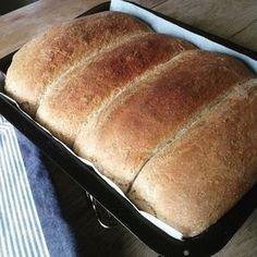 Bare halvgrovt tenker du, i disse dager når brød ikke kan bli grovt nok. Da vil jeg bare si at et hvilket som helst hjemmelaget brød slår det groveste industribakte brødet ned i sokkene. Så min o… Bread Recipes, Baking Recipes, Snack Recipes, Norwegian Food, Salad Recipes For Dinner, Good Healthy Recipes, Biscuit Recipe, What To Cook, Bread Baking
