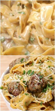 Stop Eating That Crap For Dinner And Make This Swedish Meatball Pasta Dish They will be thanking you every moment of dinner. - One-Pot Swedish Meatball Pasta dishes recipes Stop Eating That Crap For Dinner And Make This Swedish Meatball Pasta Dish Low Carb Vegetarian Recipes, Beef Recipes, Cooking Recipes, Healthy Recipes, Delicious Pasta Recipes, Pasta Recipes For Dinner, Creamy Pasta Recipes, Italian Pasta Recipes, Cheap Recipes