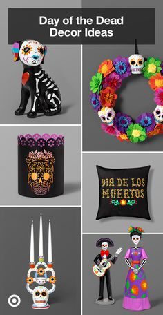 Celebrate Dia de los Muertos with party ideas, decorations & ways to decorate the altar for the celebration.