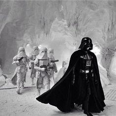 "739 Likes, 5 Comments - Star Wars | Center (@thestarwarscenter) on Instagram: ""Darth Vader invading the rebel base on Hoth #StarWars"""