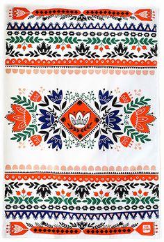 print & pattern: TEA TOWELS - mirdinara kitchen