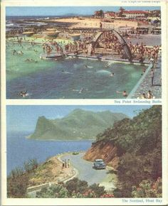 BEACH: i was thinking of maybe trying to source old books and frame beach like pictures of Cape Town Back in the days South African Air Force, South African Art, Old Pictures, Old Photos, Book And Frame, Kwazulu Natal, Cape Town South Africa, The Beautiful Country, History Photos