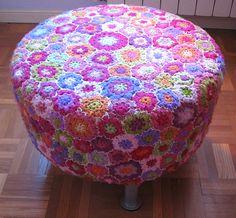 Ganchillo de flores (Crochet flowers)