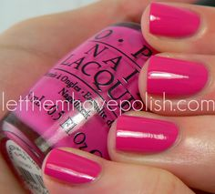 OPI Holland Collection ~ Kiss me on my Tulips