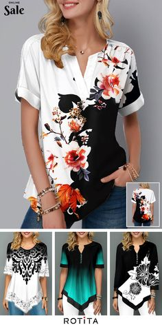 Navy Blue Decor Childrens Summer Casual T Shirt Dresses Short Sleeve,Floral Tim