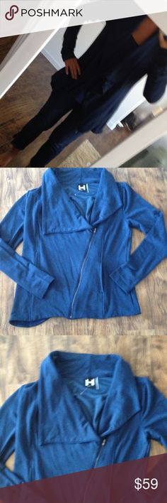 NWOT H by Bordeaux French terry  jacket New without tags! Super light and soft H by bordeaux  Jackets & Coats