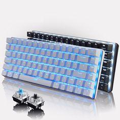 Ajazz AK33 Geek Backligt Mechanical Keyboard With Backlit LED Light Black Blue Switch Gaming Keyboards for PC Tablet Desktop #women, #men, #hats, #watches, #belts