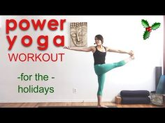 39 Minutes: Power Yoga Workout for the Holidays My Yoga, Yoga Flow, Yoga Sequences, Yoga Poses, Equinox Fitness, Bhakti Yoga, Yoga Philosophy, Learn Yoga, Yoga For Flexibility