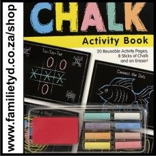 Chalk Activity Book ~ All the fun of chalkboards, all the convenience of activity books!