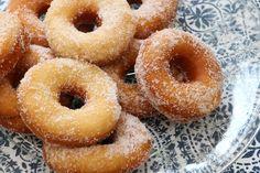 Baka munkar Zucchini, Healthy Recepies, Fika, Food Cakes, Doughnut, Donuts, Delicious Desserts, Cake Recipes, Bakery