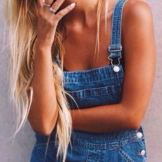 ☼ ☾ - overalls: the best comeback of all fashion